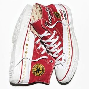 Campbell Soup Converse Hightops